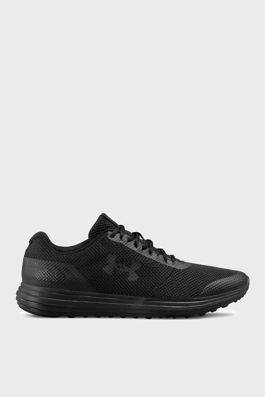 Мужские черные кроссовки UA Surge