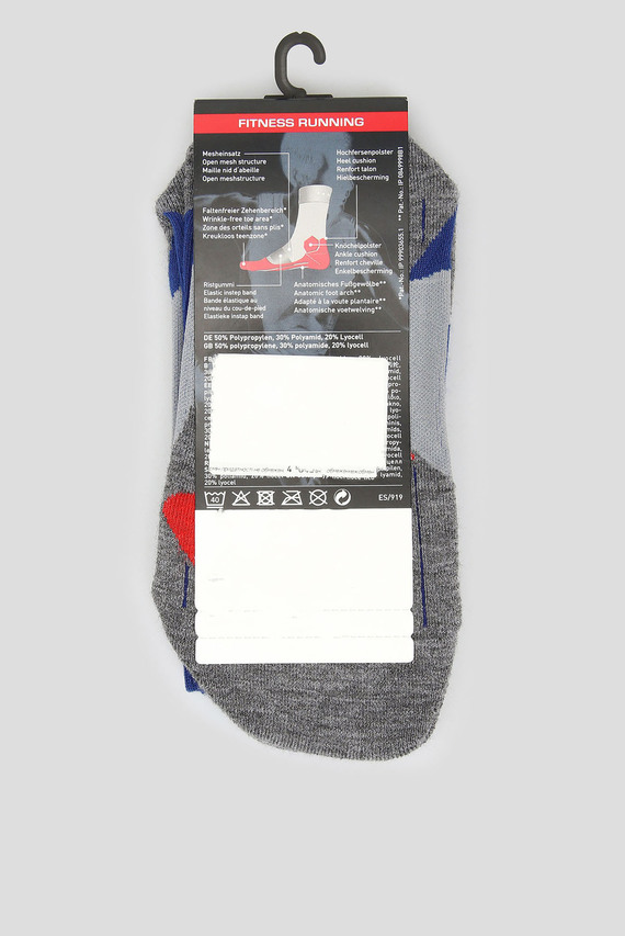 Женские синие носки для бега RU4 CUSHION