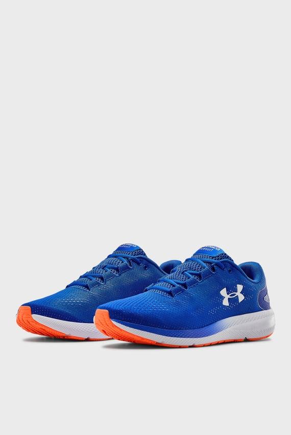 Мужские синие кроссовки UA Charged Pursuit 2