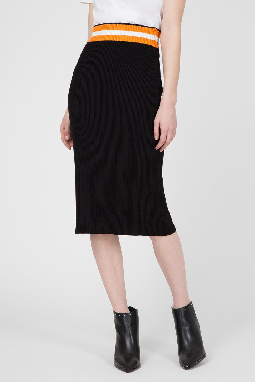 Женская черная юбка SWTR PENCIL