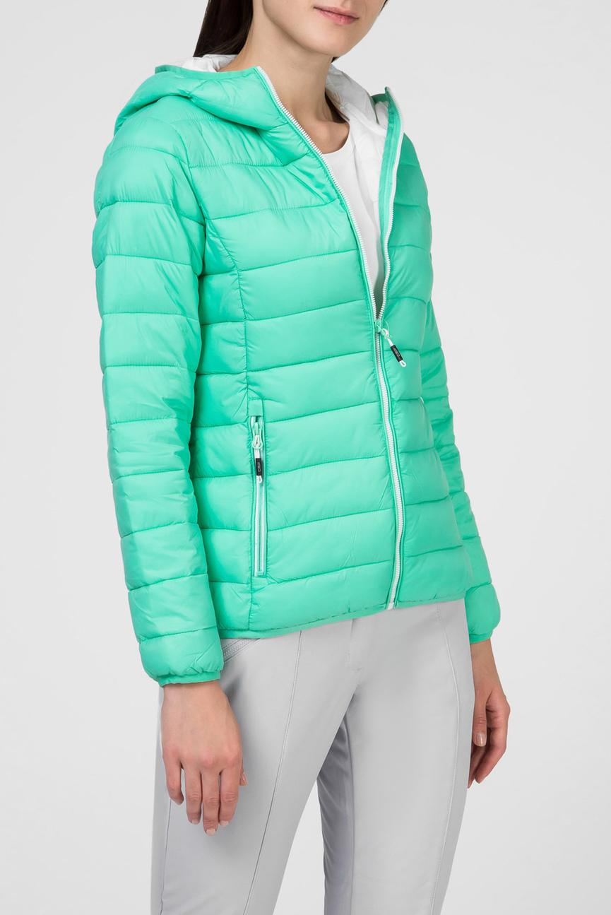 Женская салатовая куртка