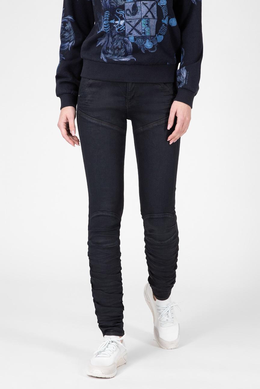 Женские темно-синие джинсы 5620