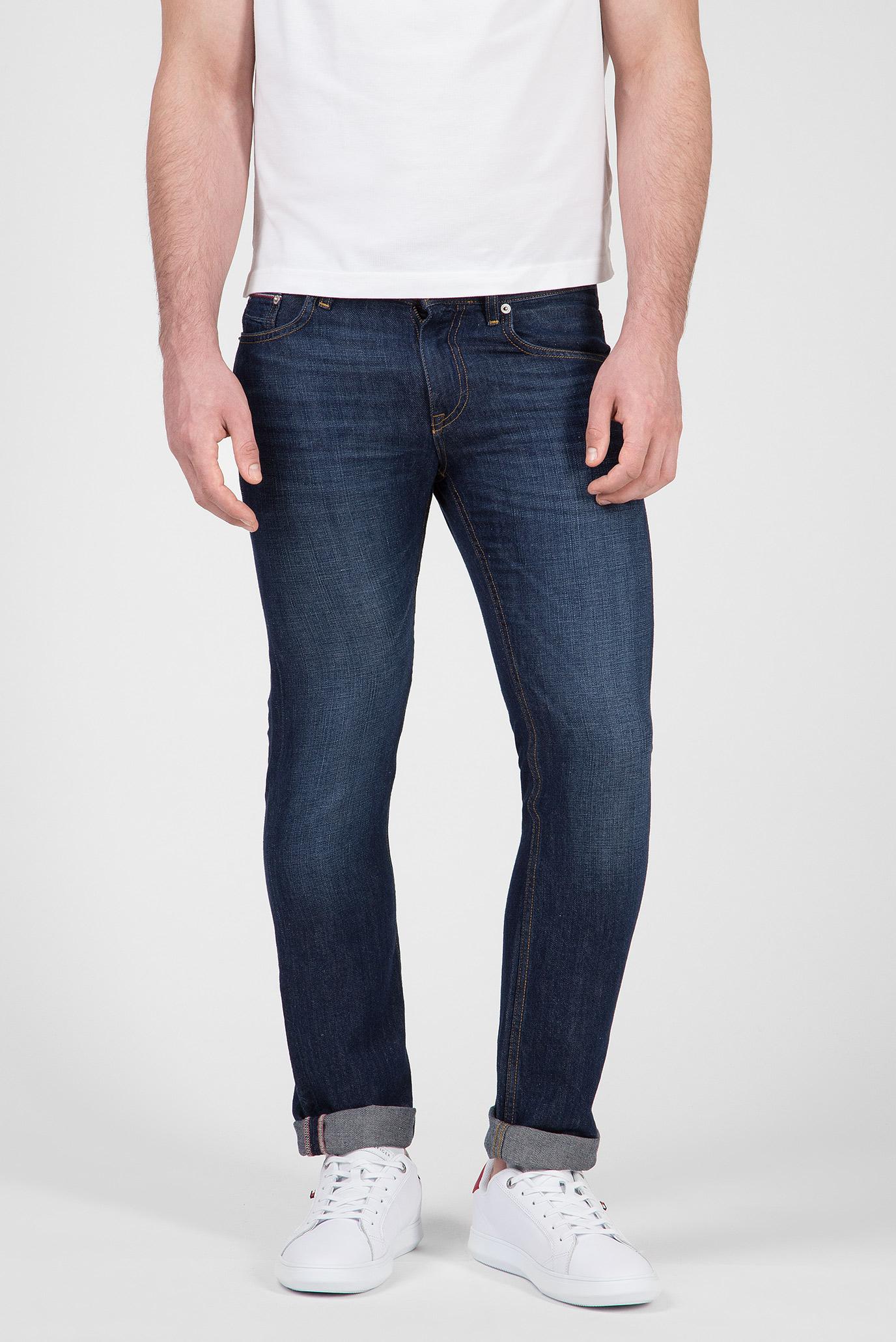 Купить Мужские темно-синие джинсы DENTON  Tommy Hilfiger Tommy Hilfiger MW0MW10117 – Киев, Украина. Цены в интернет магазине MD Fashion