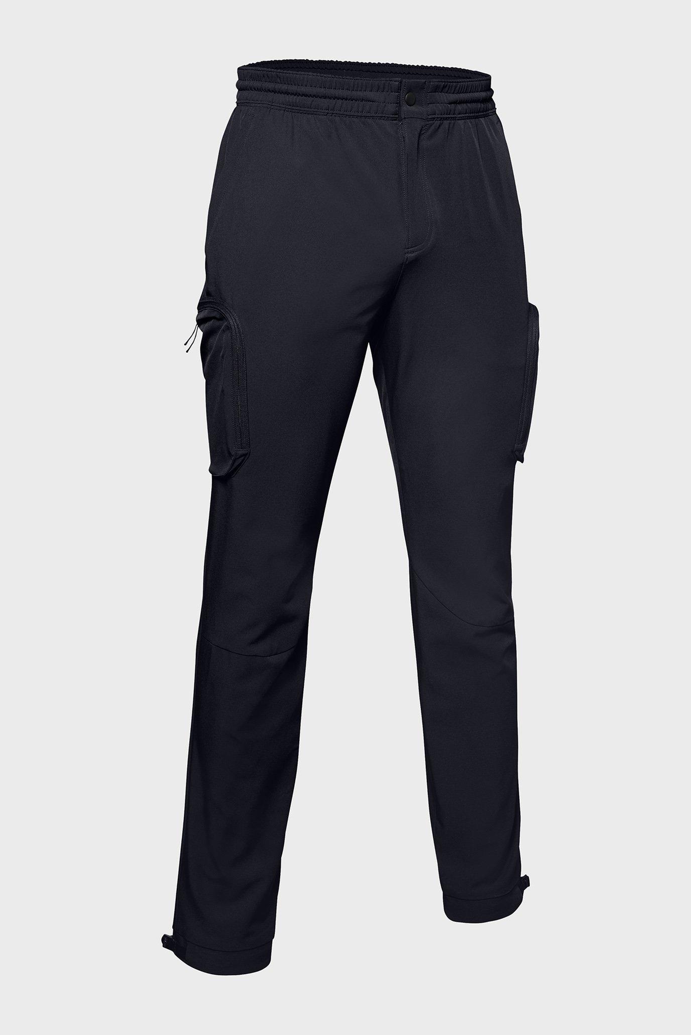 Мужские черные брюки UNSTOPPABLE WOVEN CARGO PANT Under Armour