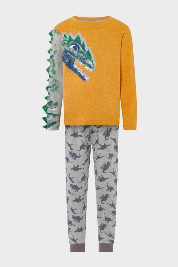 Детская пижама (лонгслив, брюки) ARAGON DINO JERSEY P