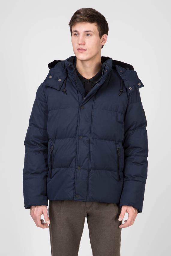 Мужская темно-синяя куртка MID LENGTH