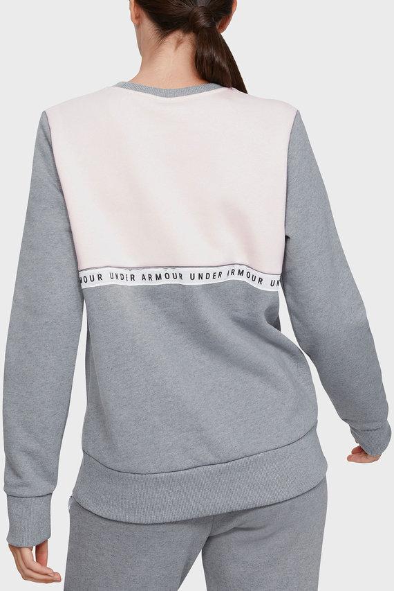Женский серый свитшот ORIGINATORS FLEECE CREW LOGO