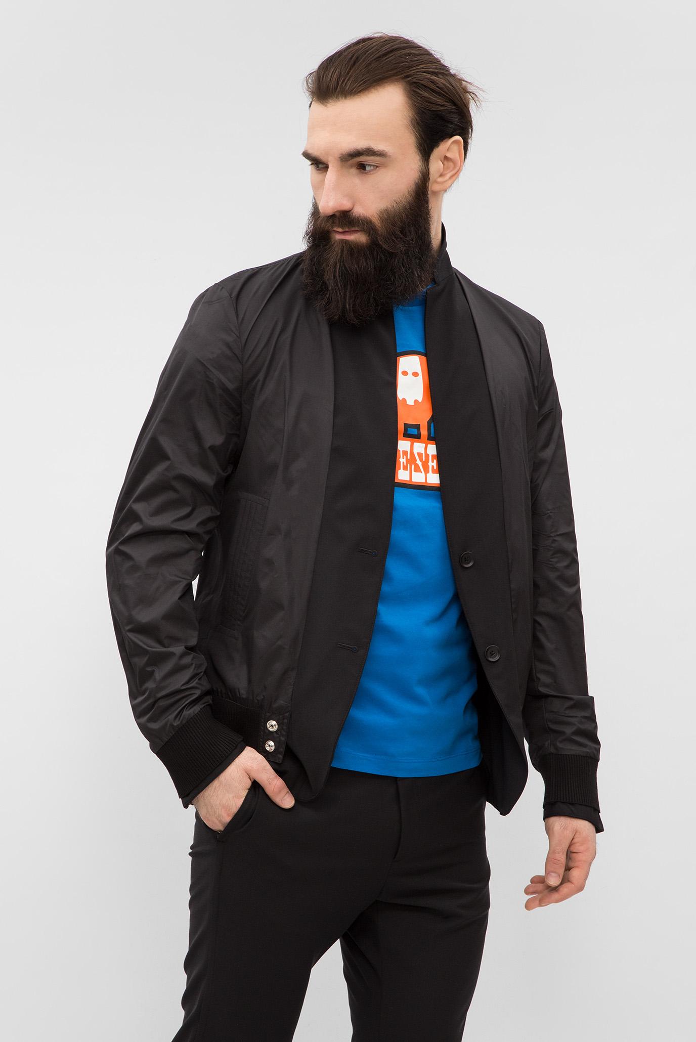 Купить Мужской черный двухсторонний пиджак J-ETERYS GIACCA Diesel Diesel 00S7FZ 0NASF – Киев, Украина. Цены в интернет магазине MD Fashion