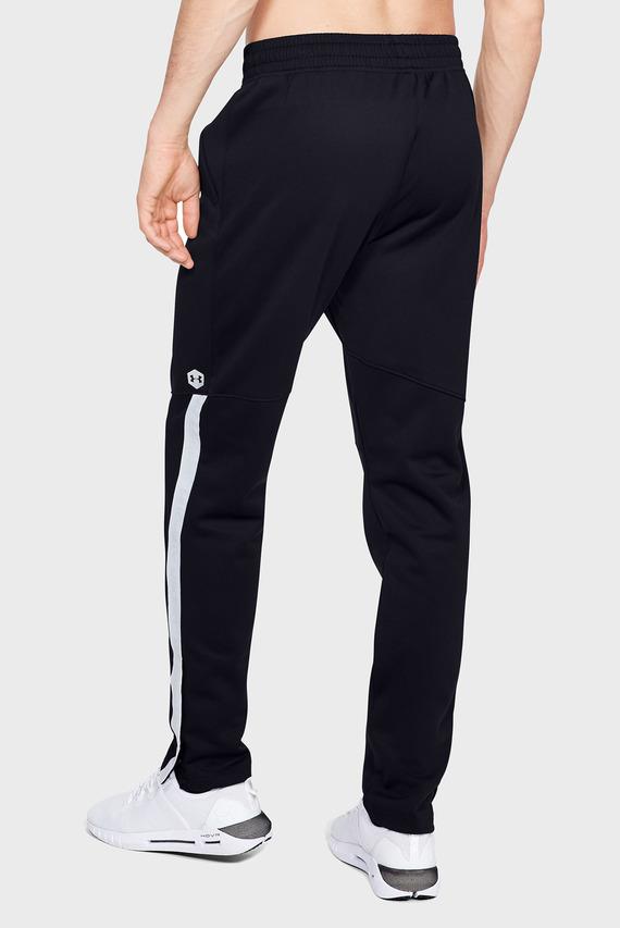 Мужские черные спортивные брюки Athlete Recovery Knit Warm Up Bottom