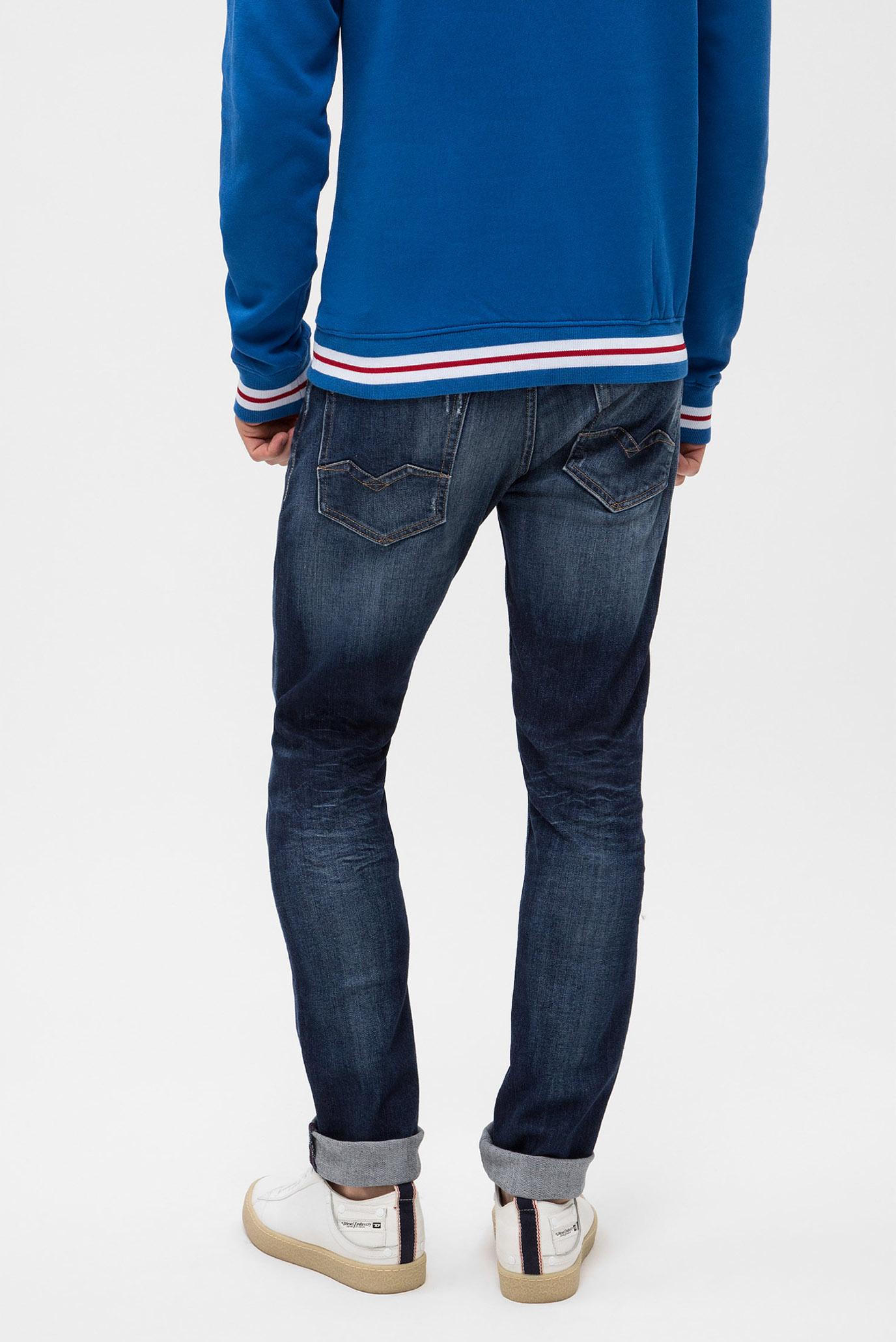 Купить Мужские темно-синие джинсы ROB Replay Replay MA950 .000.573 333 – Киев, Украина. Цены в интернет магазине MD Fashion