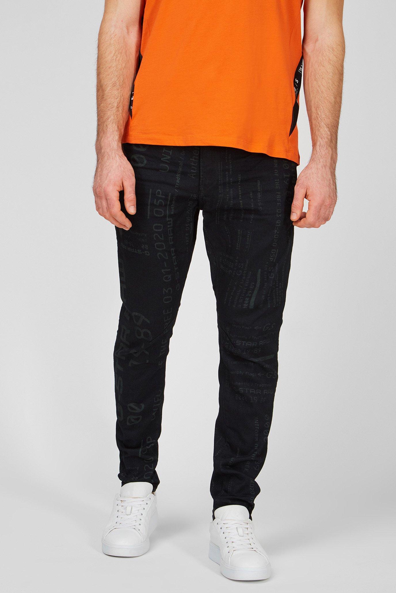 Мужские черные джинсы D-Staq 3D 1