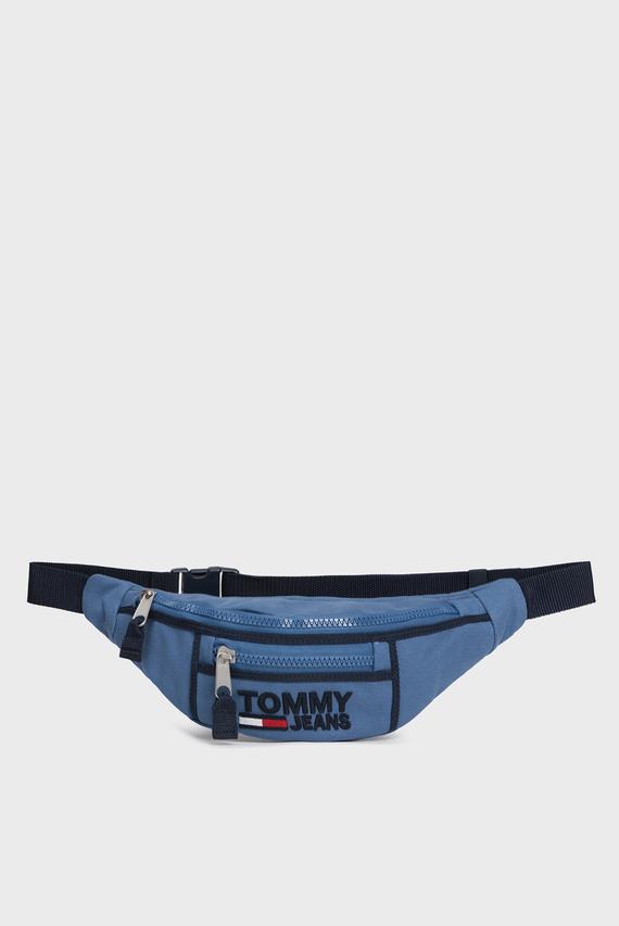 Мужская синяя поясная сумка TJW HERITAGE