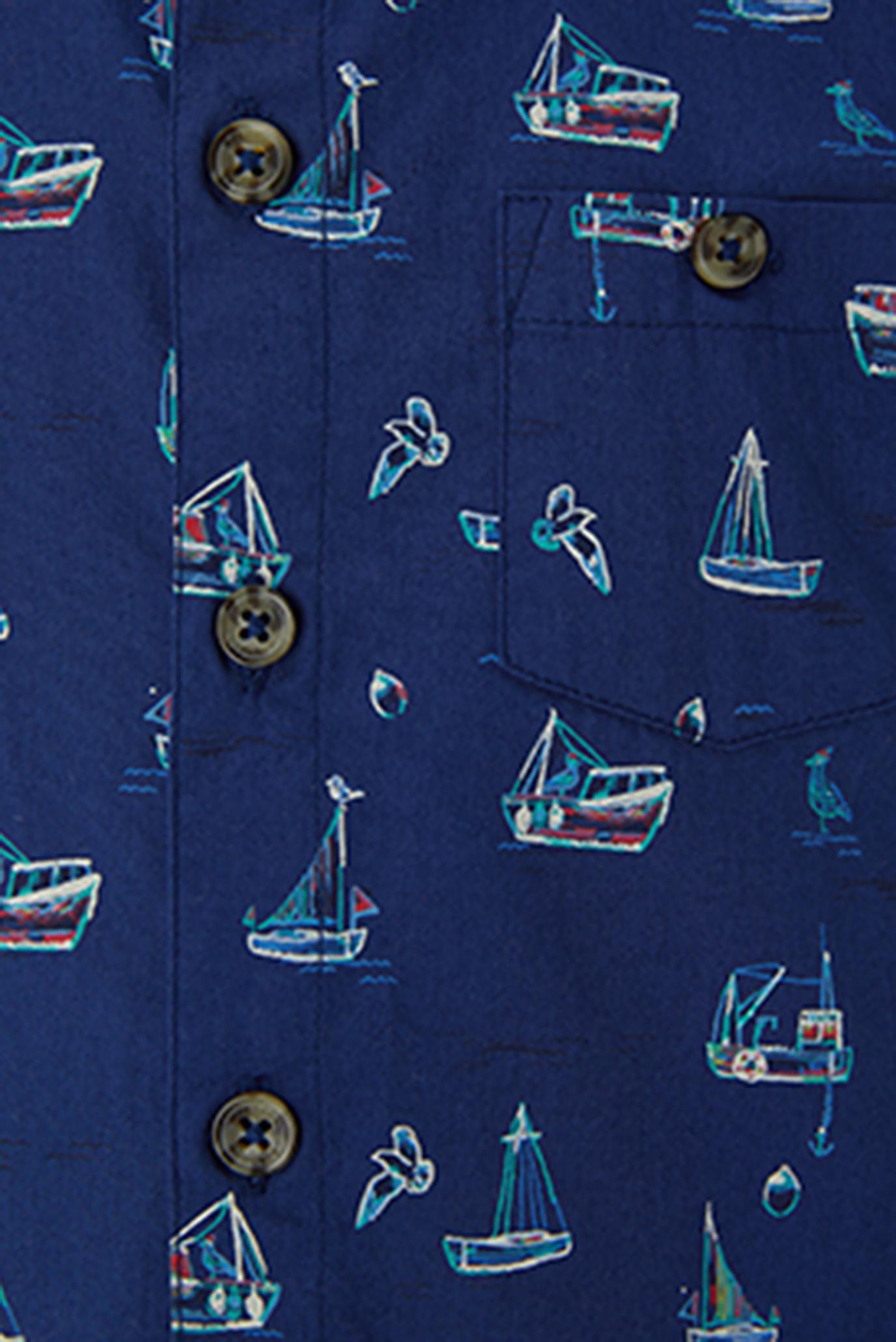 Купить Детская темно-синяя рубашка Stanley Shirt Monsoon Children Monsoon Children 616230 – Киев, Украина. Цены в интернет магазине MD Fashion