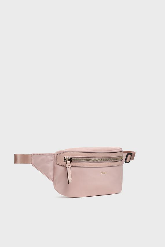 Женская пудровая поясная сумка Casey