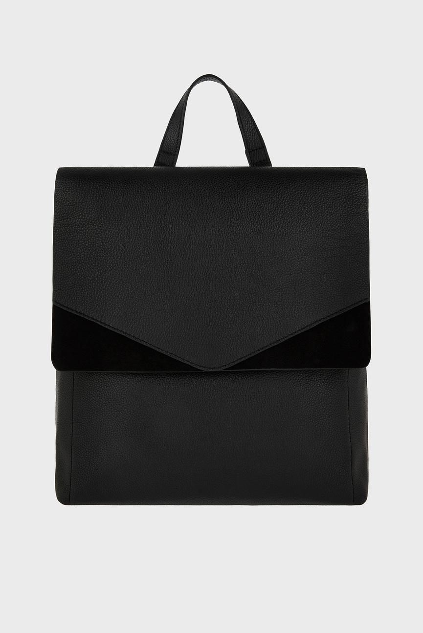 Женский черный рюкзак IVY LEATHER