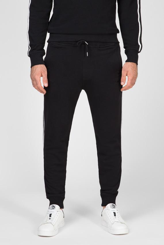 Мужские черные спортивные брюки UMLB-PETER