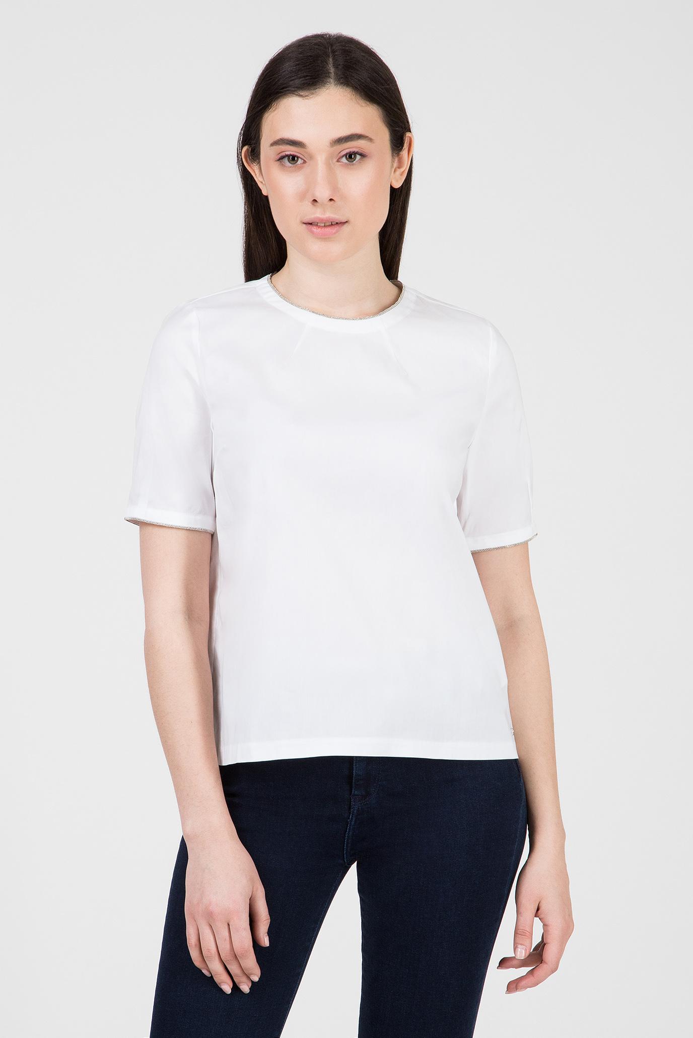 Купить Женская белая блуза LOLA Tommy Hilfiger Tommy Hilfiger WW0WW23972 – Киев, Украина. Цены в интернет магазине MD Fashion
