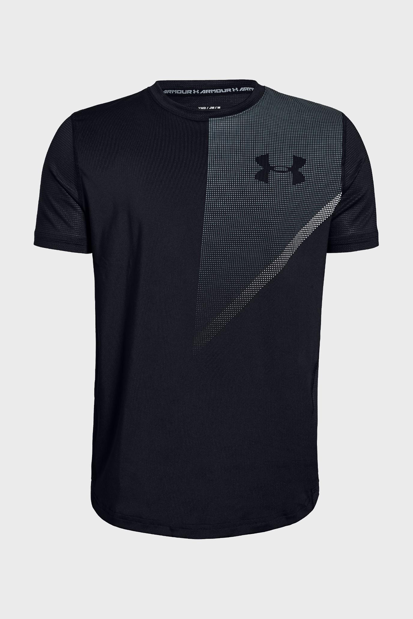 Купить Детская черная футболка Raid Short Sleeve Tee Under Armour Under Armour 1332807-001 – Киев, Украина. Цены в интернет магазине MD Fashion