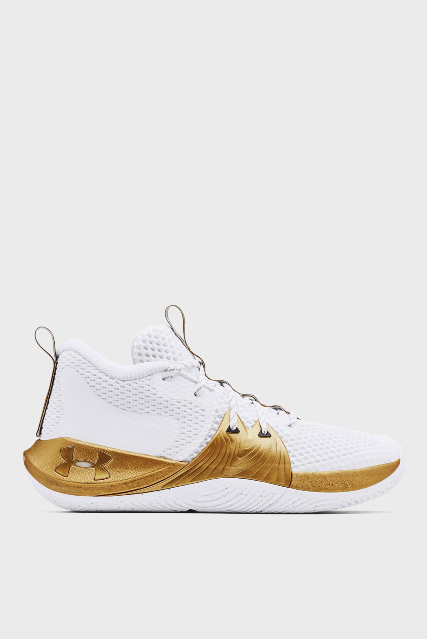 Білі кросівки UA Embiid 1-WHT 1