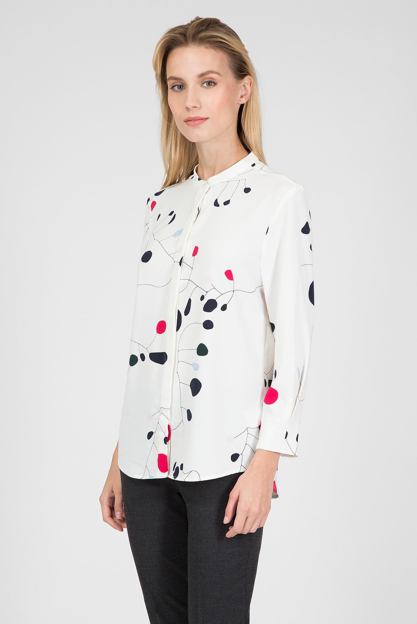 Купить Женская белая рубашка с принтом Gant Gant 4301037 – Киев, Украина. Цены в интернет магазине MD Fashion