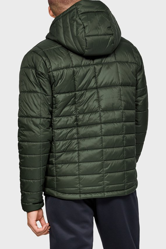 Мужская зелёная куртка UA Armour Insulated Hooded