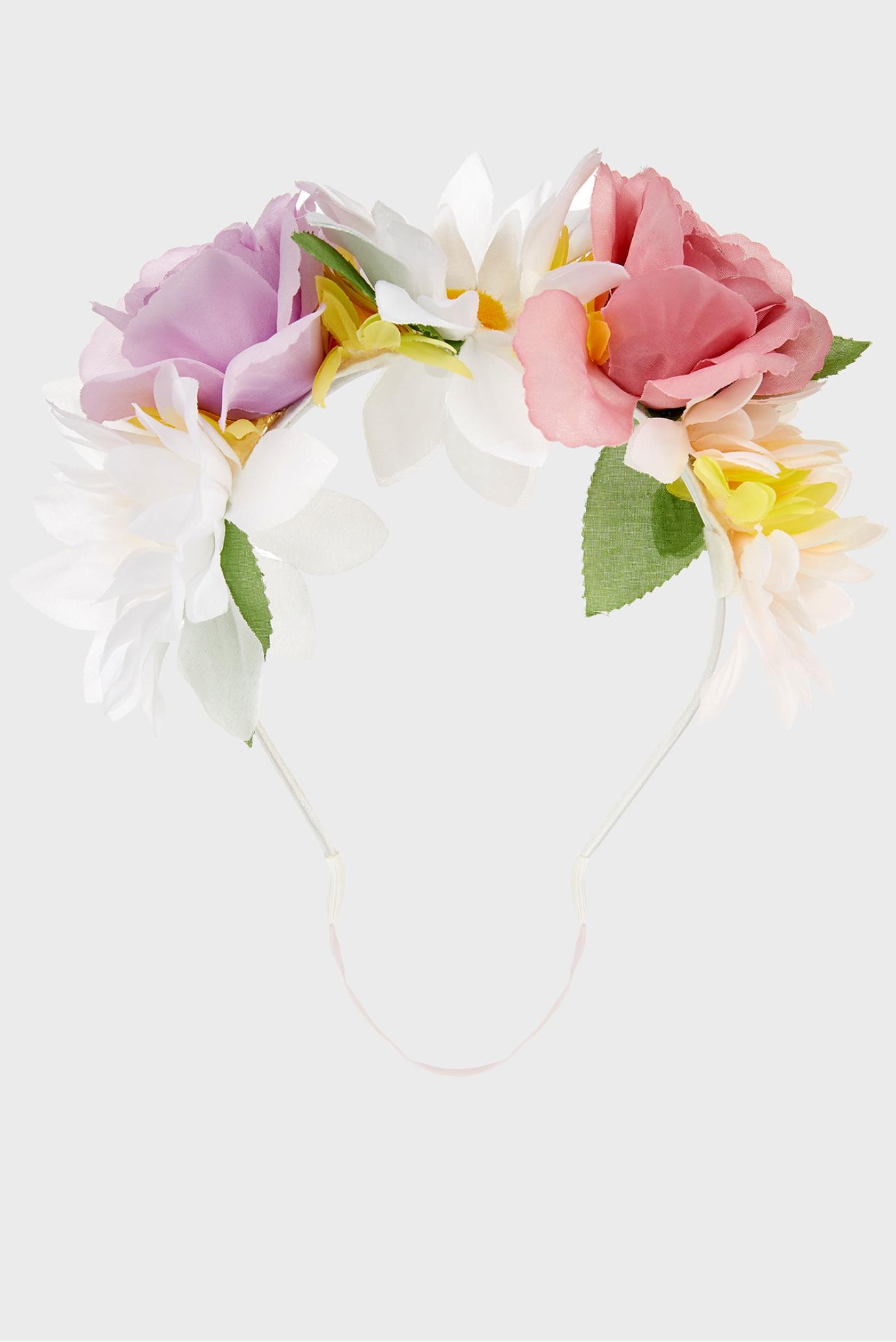 Купить Детская белая повязка Hydrangea Large Flow Monsoon Children Monsoon Children 610424 – Киев, Украина. Цены в интернет магазине MD Fashion