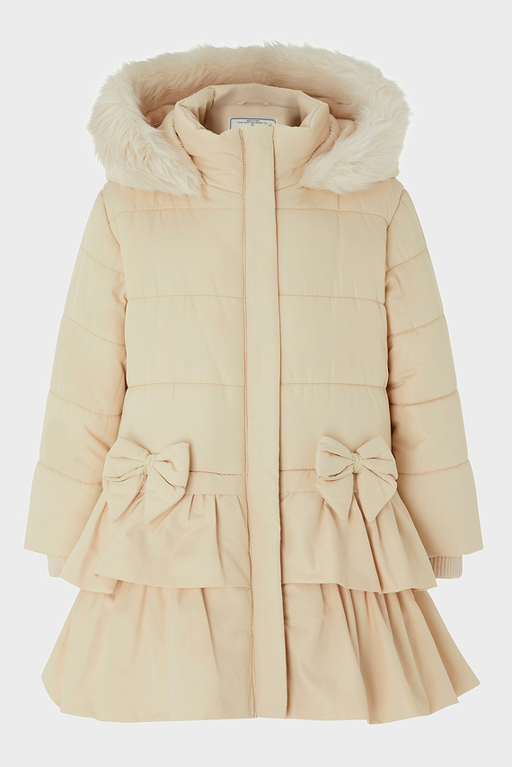 Детское бежевое пальто BABY CARA COAT
