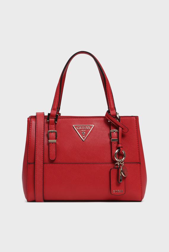 Женская красная сумка на плечо CARYS SATCHEL