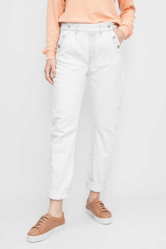 Женские белые джинсы Arc 3D Boyfriend