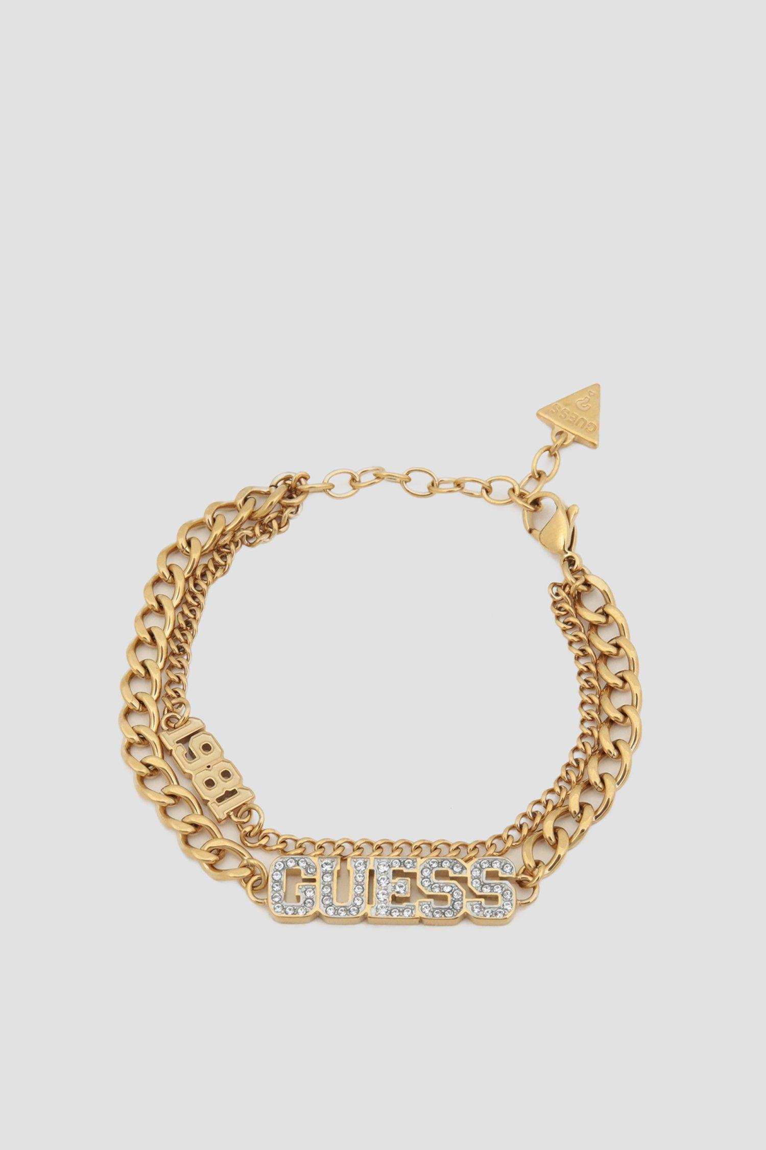 Жіночий золотистий браслет 1
