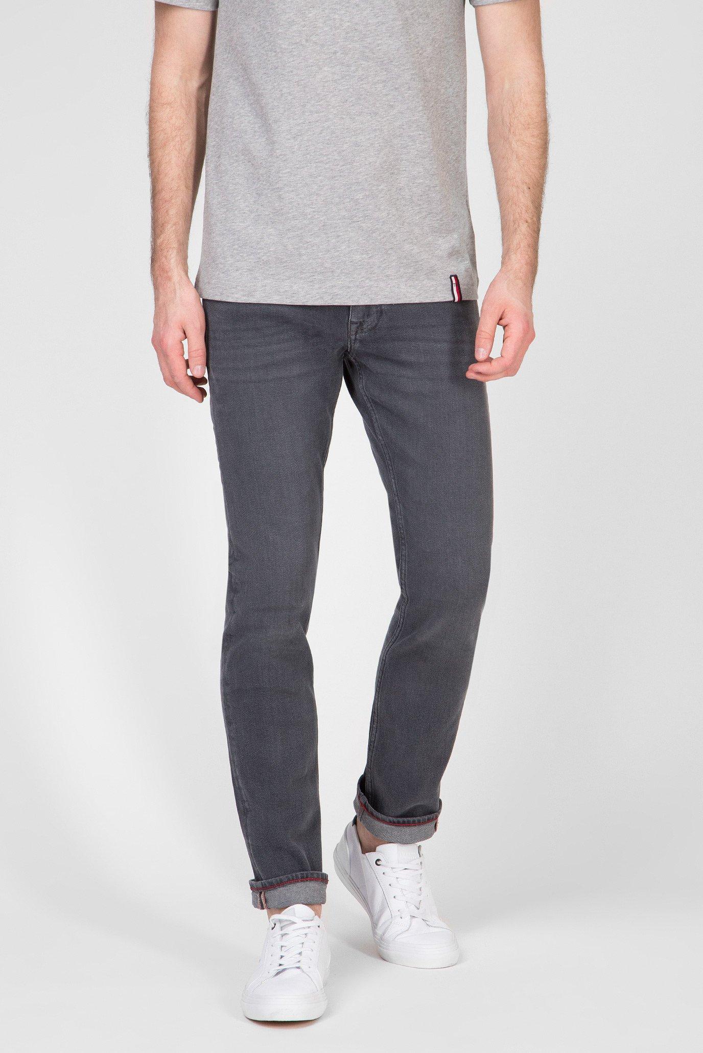 Мужские серые джинсы STRAIGHT DENTON Tommy Hilfiger