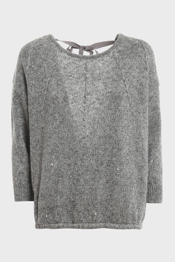 Женский серый свитер MAGLIA