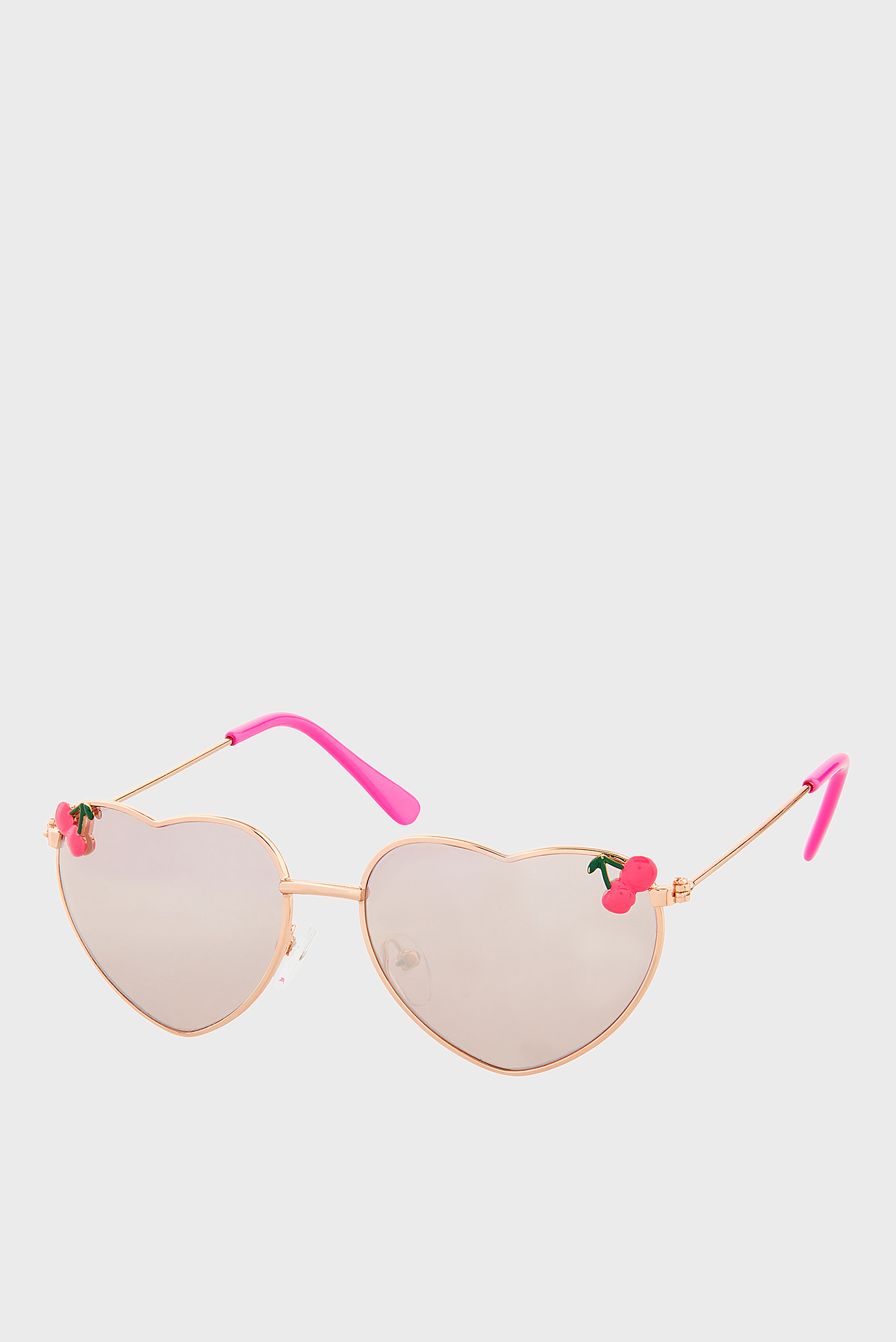 Золотисті сонцезахисні окуляри CHERRY HEART AVIATOR 1