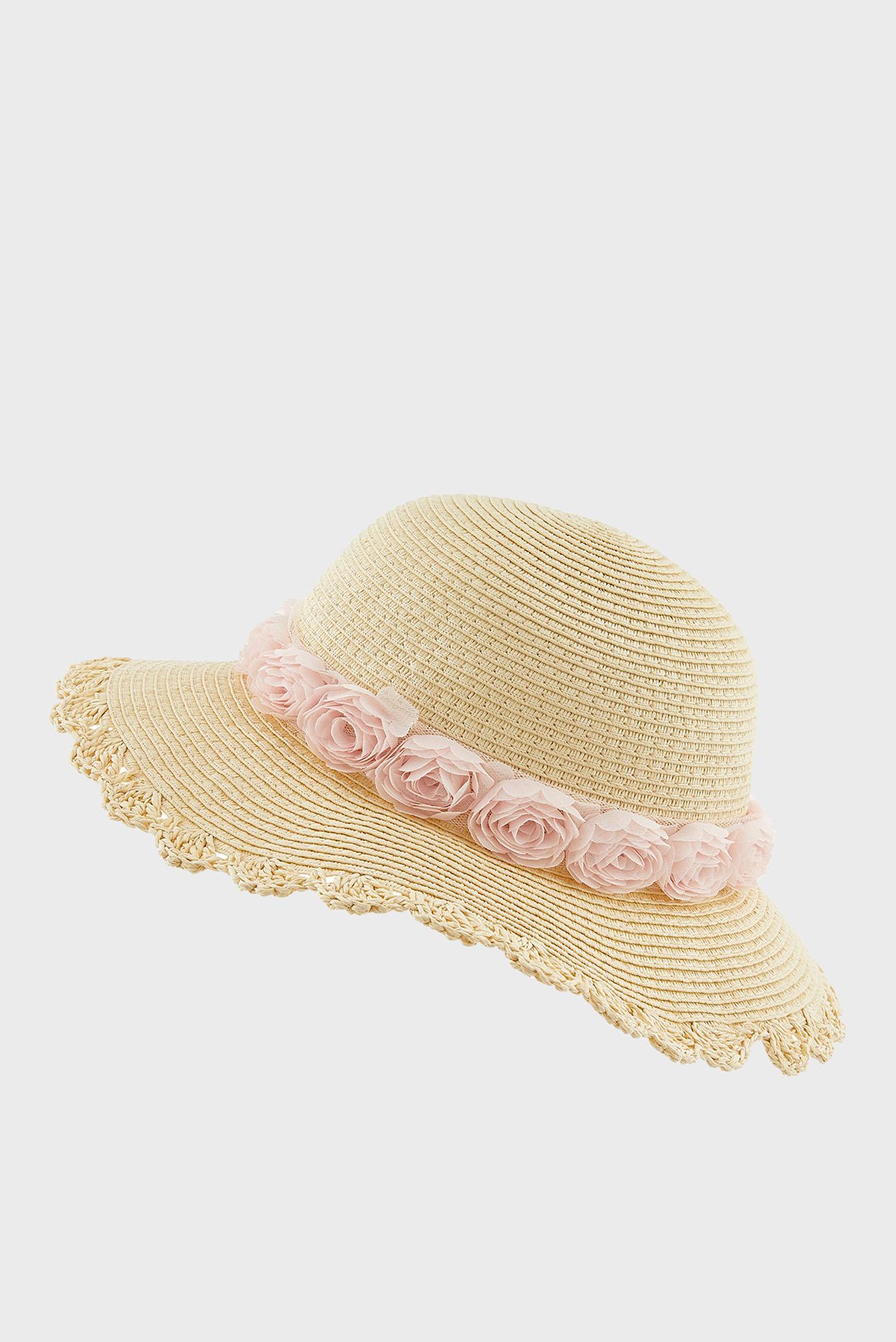 Купить Детская бежевая шляпа IANTHE CHIFFON FLOWERS Monsoon Children Monsoon Children 610283 – Киев, Украина. Цены в интернет магазине MD Fashion