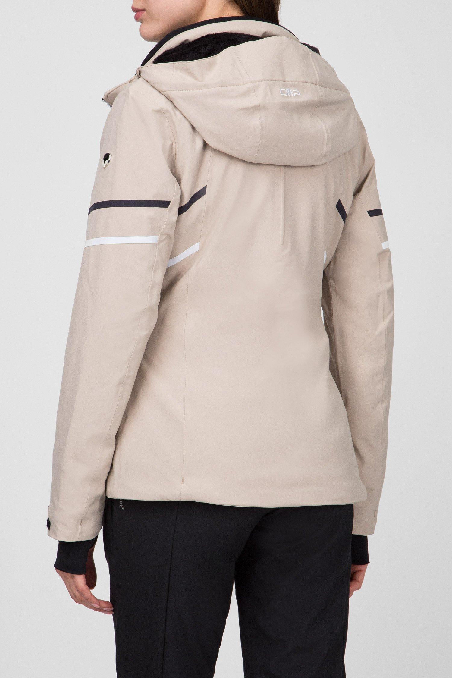 Купить Женская бежевая пуховая лыжная куртка CMP CMP 38W0656-A516 – Киев, Украина. Цены в интернет магазине MD Fashion