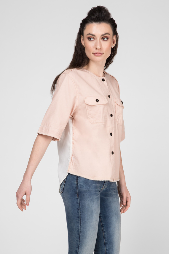 Женская пудровая рубашка Beryl