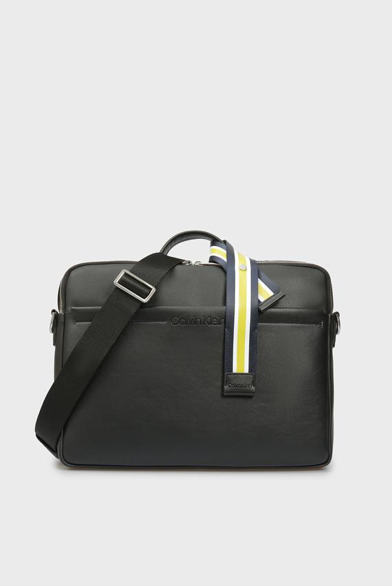 Мужская черная сумка для ноутбука FLEX TOP HANDLE