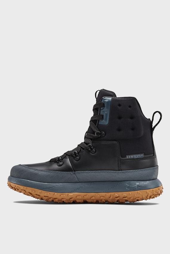 Мужские черные ботинки UA Fat Tire Govie
