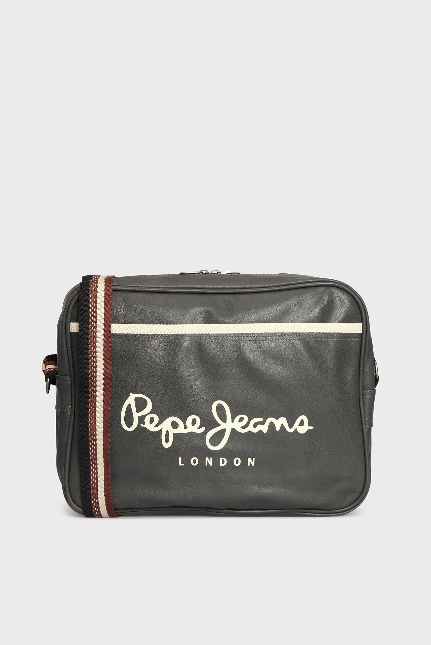 Купить Мужская серая сумка через плечо Pepe Jeans Pepe Jeans PM030466 – Киев,  Украина. Цены в интернет магазине ... dbeb95ca5b1