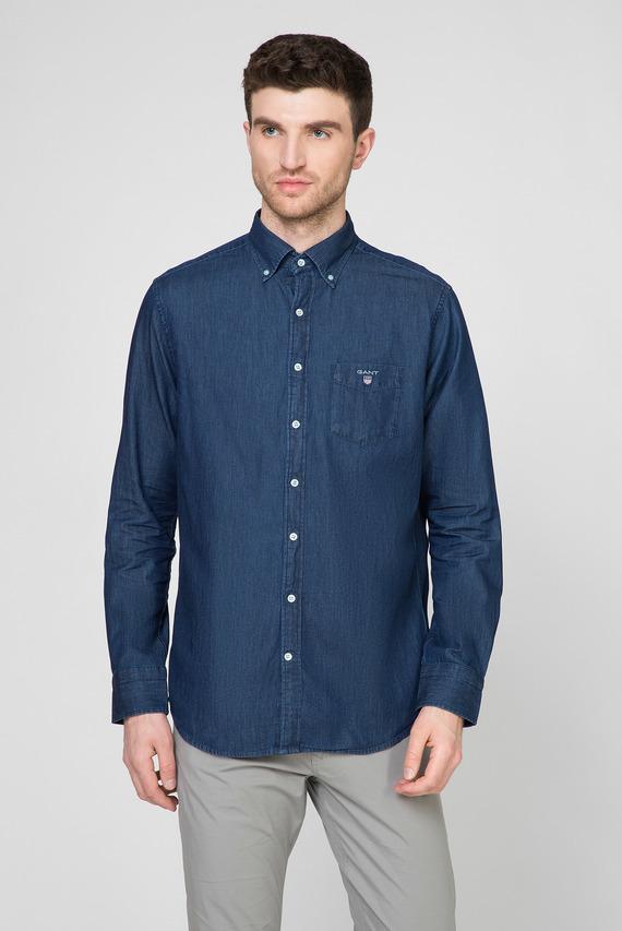 Мужская синяя рубашка THE INDIGO REGULAR