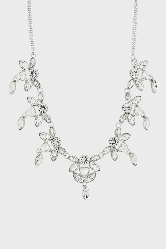 Женское серебристое ожерелье NEW PETUNIA COLLAR