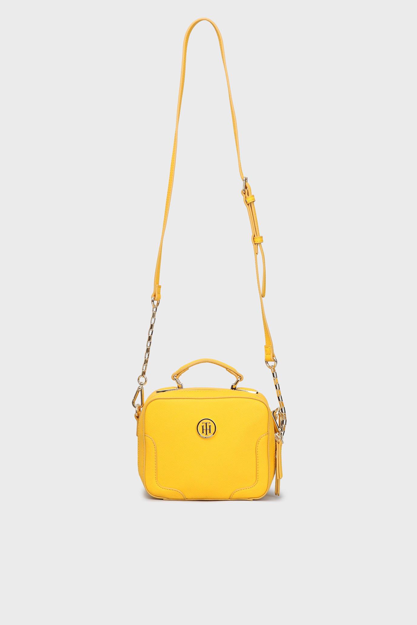 e38dd07ab55 Купить Женская желтая сумка через плечо Tommy Hilfiger Tommy ...