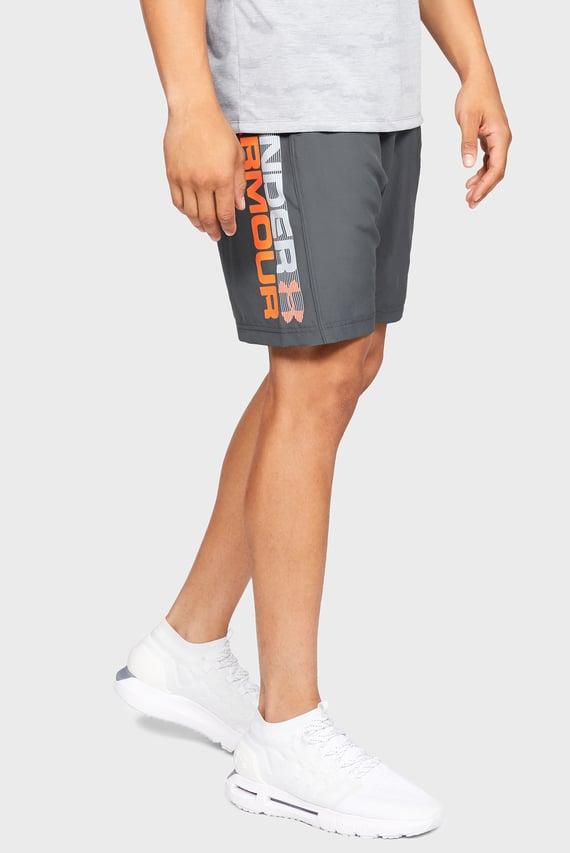 Мужские серые шорты Woven Graphic Wordmark Short