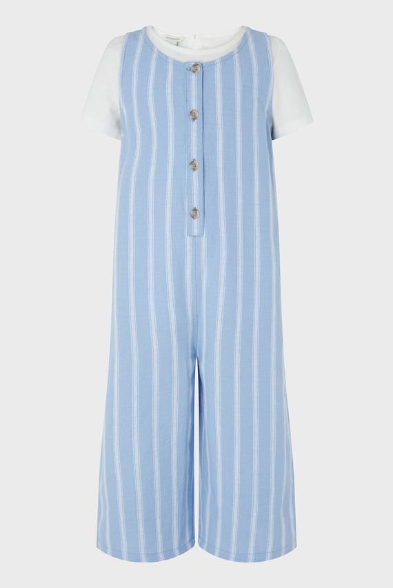 Комплект детской одежды (комбинезон, футболка) Peta Romper & Tshirt