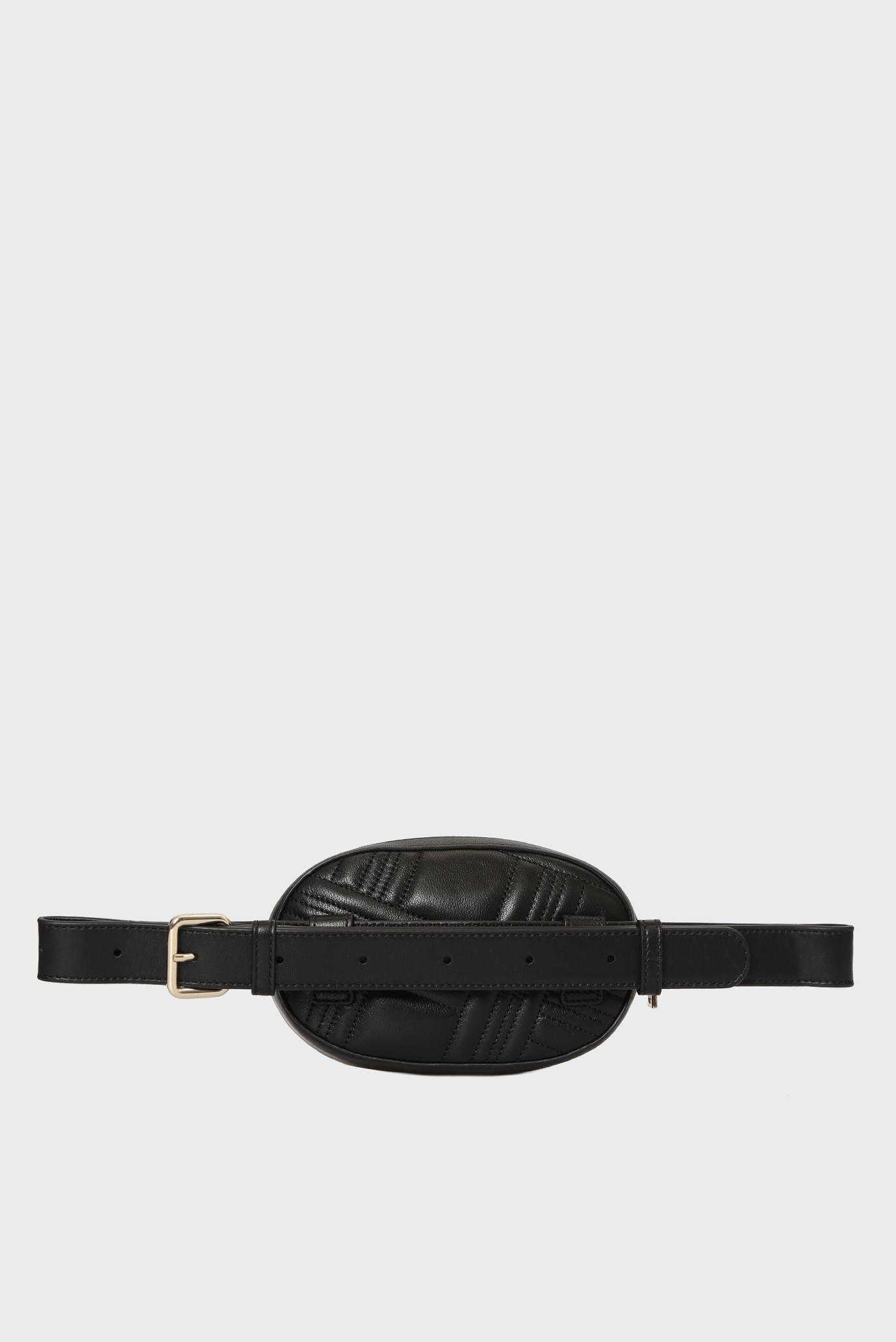Купить Женская черная кожаная поясная сумка ALLEN-BELT DKNY DKNY R842B965 – Киев, Украина. Цены в интернет магазине MD Fashion
