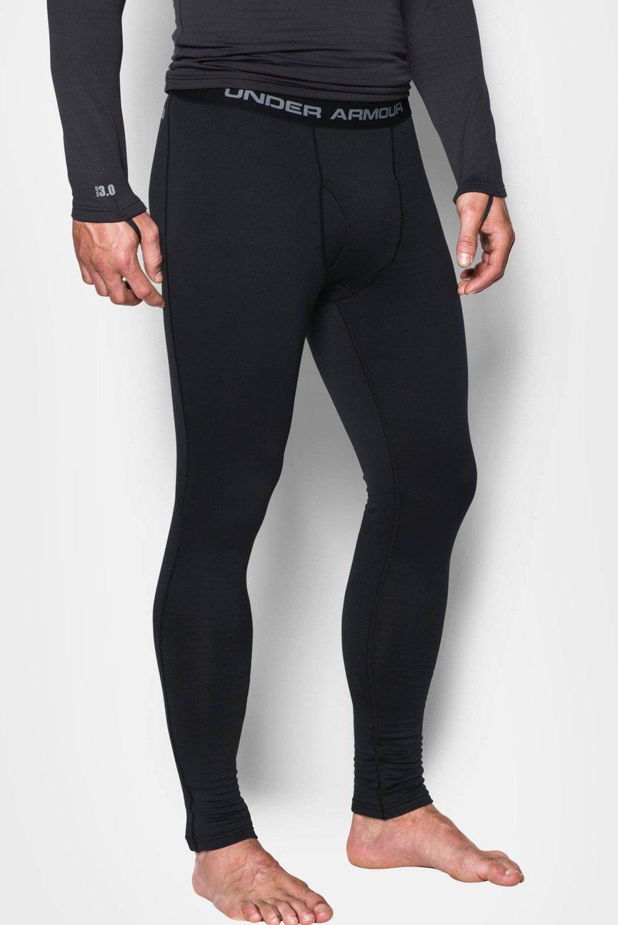Мужские черные тайтсы UA Base 3.0 Legging