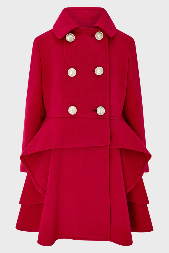 Детское красное пальто Charlotte Coat