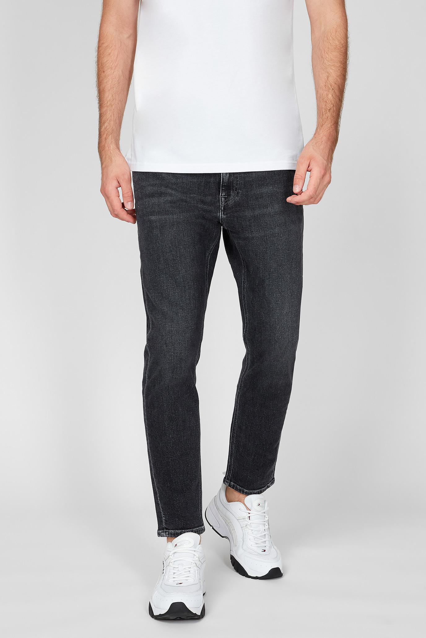 Чоловічі чорні джинси DAD JEAN 1
