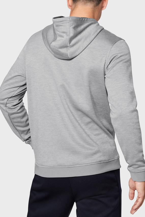 Мужское светло-серое худи AF PO Hoodie Bar Logo Graphic