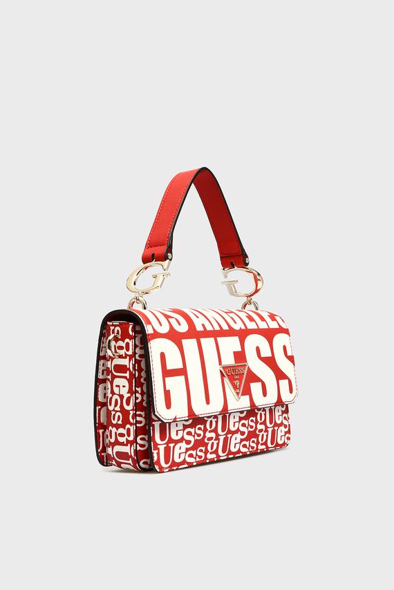 Женская красная сумка через плечо ANALISE